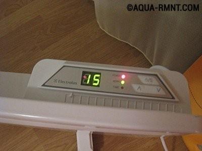 Конвектор с электронным термостатом