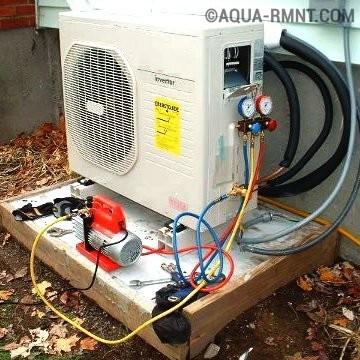 Обзор системы теплового насоса типа воздух-воздух: «кондиционер на обогрев»