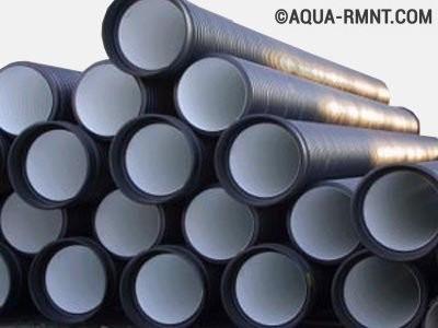 Полиэтиленовые трубы для наружной канализации