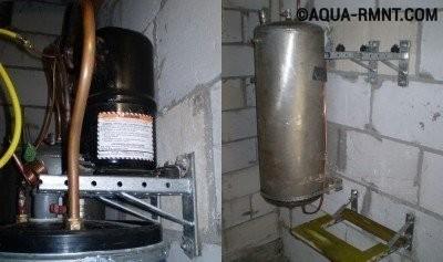 """Компрессор и конденсатор для теплового насоса """"воздух-вода"""""""