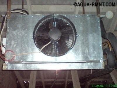 "Вентилятор для теплового насоса ""воздух-вода"""