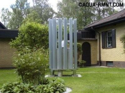 Внешний блок теплового насоса воздух-вода
