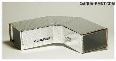Воздуховоды прямоугольного сечения из плит Climaver