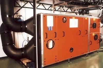 Климатический комплекс для обработки воздуха в бассейне