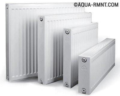 Стальные панельные радиаторы: устройства разных размеров