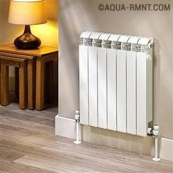 Алюминиевые радиаторы отопления: обзор технических характеристик + советы по выбору