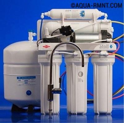 Пятиступенчатая обратноосмотическая установка очистки водопроводной воды