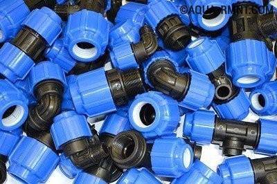 Металлопластиковые фитинги: компрессионные детали