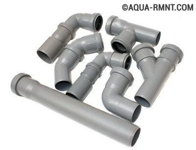 Внутренняя канализация: выбираем трубы