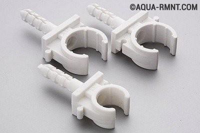 Клипсы для крепления металлопластиковых труб
