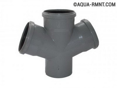 Трубы для канализации: разновидности фитингов
