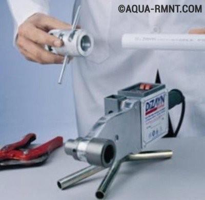 Сварочный аппарат для пайки полипропиленовых труб
