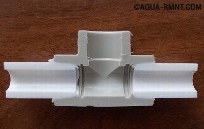 Монолитное соединение полипропиленовых труб с фитингом