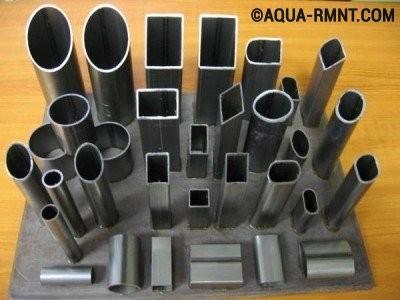 Трубы с сечением различной конфигурации