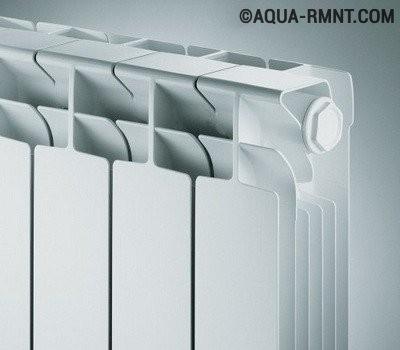 Биметаллические радиаторы: форма оребрения