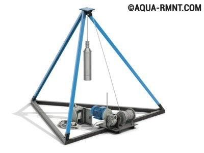 Ударно-канатная бурильная установка