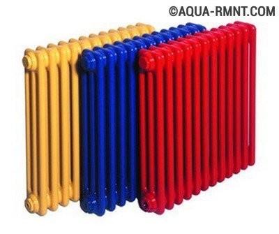 Стальные радиаторы отопления: варианты расцветок