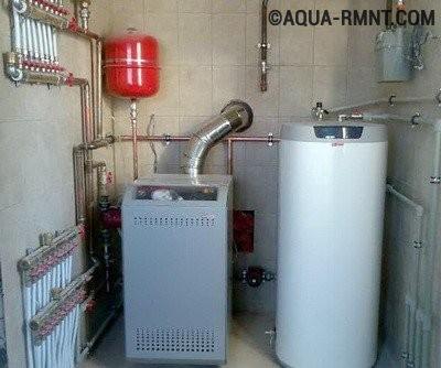 Отопление частного дома своими руками: газовый котел