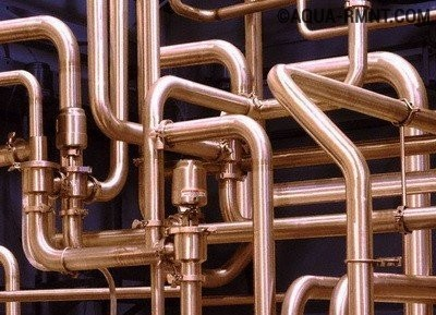 Медные трубы и фитинги: монтаж трубопровода