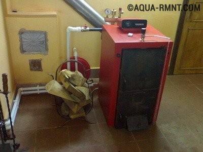 Отопление частного дома своими руками: твердотопливный котел