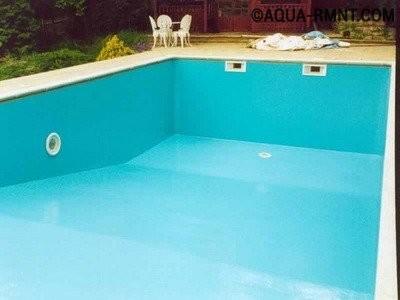Внутренняя гидроизоляция бассейна