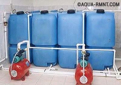 Установка жидкотопливного котла: топливные емкости