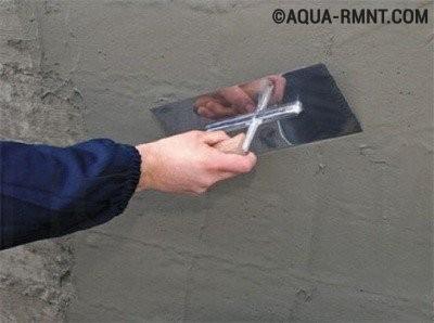 Гидроизоляция бассейна материалами на основе цемента