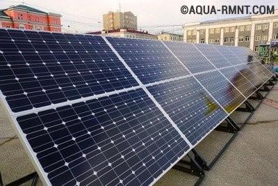 Монокристаллические кремниевые солнечные батареи