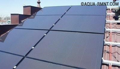Аморфные солнечные батареи