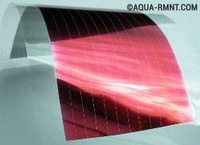 Полимерные пленочные солнечные батареи