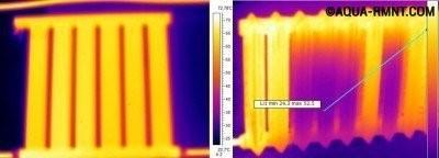 Эффективность вакуумного радиатора