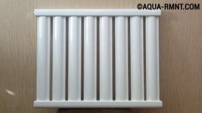 Внешний вид вакуумного радиатора