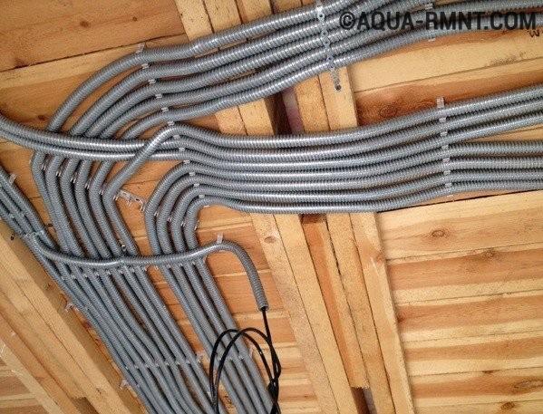 Правильная электропроводка в каркасном доме