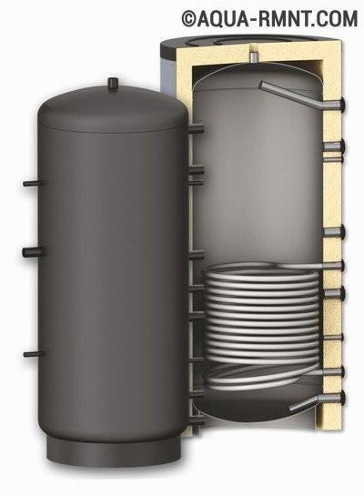 Внутреннее устройство термоаккумулятора