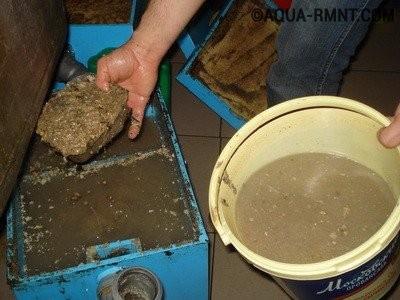 Ловушки для жира ручной очистки