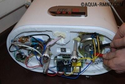 Диагностика нагревательного элемента в водонагревателе