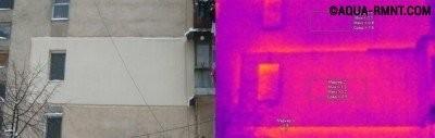 Оценка теплопотерь квартиры