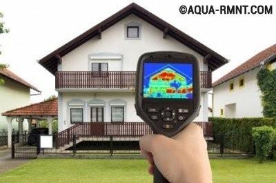 Тепловизионное обследование объекта