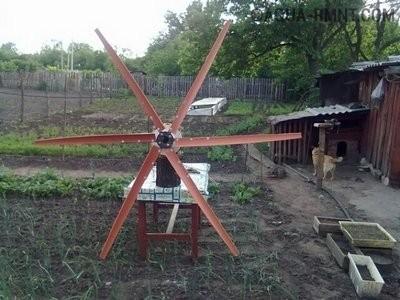 Вітрогенератори саморобні