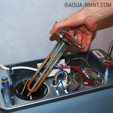 Ремонт водонагревателя: как самостоятельно заменить перегоревший ТЭН и другие детали