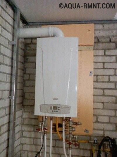 Газовая система отопления в гараже
