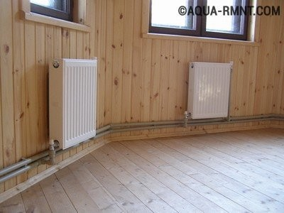 Выбор радиаторов для монтажа системы отопления в коттедже