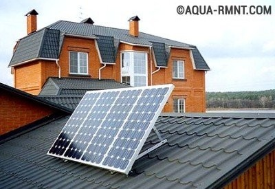 Батарея на крыше