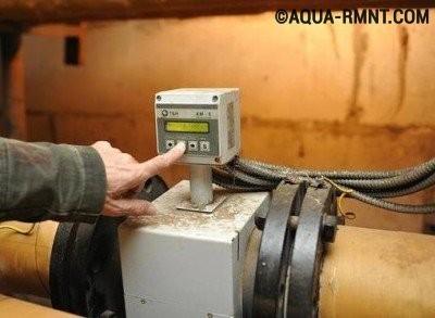 Установка общедомового счетчика тепла