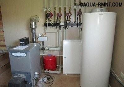 Комбинированная система отопления в котельной
