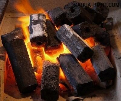 Отходы угольных брикетов