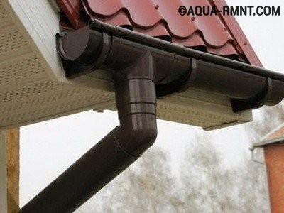 Установка водостока для крыши своими руками: пластиковые системы