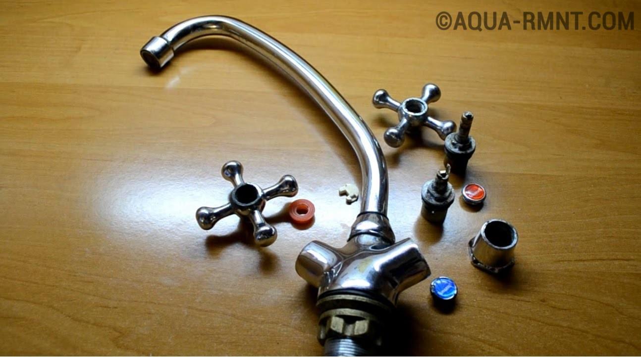 Как отремонтировать кран-буксу для смесителя своими руками: простые инструкции