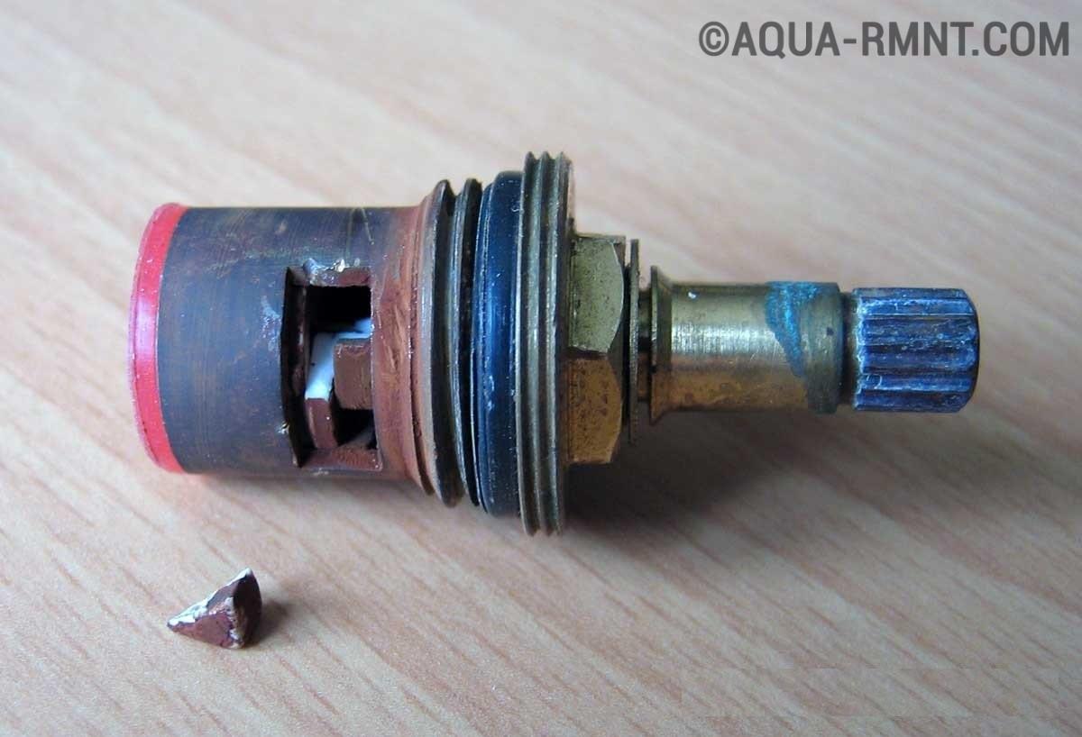 Как отремонтировать кран буксу