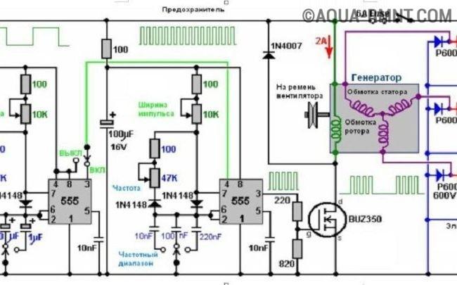 Схема генератор водорода своими руками схема фото 990